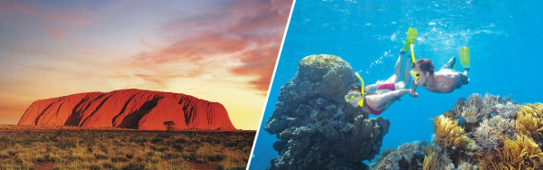Contact Romantik Destinations for travel to Australia.